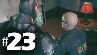 Batman Arkham Knight Part 23 - SWAT Radio - Gameplay Walkthrough PS4