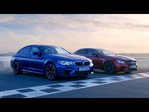 Chris Harris vs Business Stig BMW M5 vs Merc AMG E63 S Top Gear Series 26