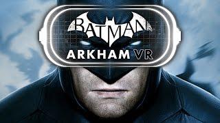 Batman VR! Comicstorian and Nathalie ARE BATMAN!