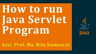 How to run Servlet program (JAVA, TomCat)(BCA,MCA,M.scIT)