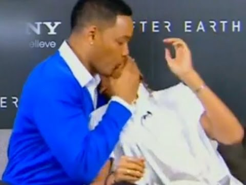 Watch Will Smith Kisses Son Jaden in The Mouth HipHollywood