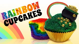 Rainbow Cupcakes and Decorating Ideas