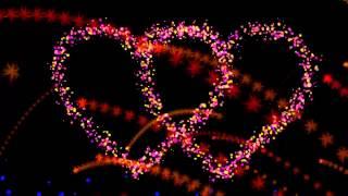 Футаж - два сердца