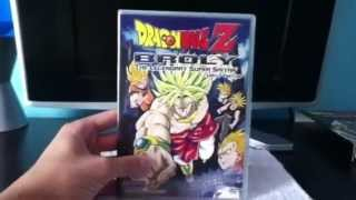 DragonBall Z Broly Triple Threat Review (Unboxing)