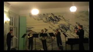 WEST BrassQuintet(live concert) P.Tchaikovskij.TREPAK