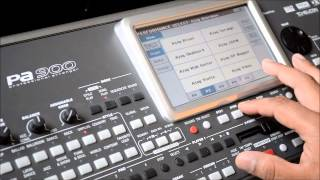Korg PA900 Indian Tones Desi Sounds Ethnic Patches