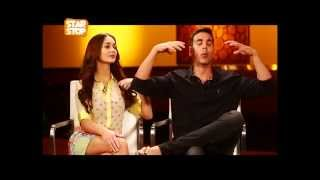 Akshay Kumar & Amy Jackson Exclusive Interview | Singh Is Bling Movie| B4U Starstop Part 1