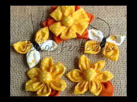 Feitos Perfeitos Flores de Fuxico.WMV