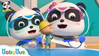 Doctor Panda Cures Mr.Gecko