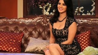 Sunny Leone on The Sets of