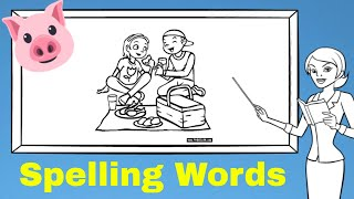 Lesson 1 SPELLING WORDS [Elementary School]