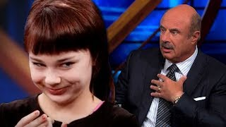Dr Phil: Creepy/Evil 12 Year Old Girl Guest Aneska