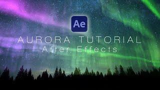 Aurora (Northern Lights) - After Effects Tutorial