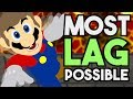 What is the Most Lag Possible in Super Mario Maker?