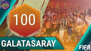 100 GEN ŞAMPİYON GALATASARAY KADROSU! FIFA MOBILE 18