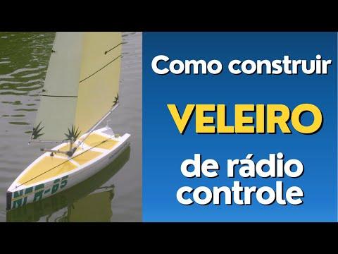 2 20 CONSTRUINDO VELEIRO NCR65 How to Make a Sailboat NAUTIMODELISMO