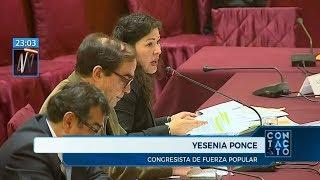 Lescano, Ochoa y Garrido-Lecca: el último acto de Yesenia Ponce en la comisión de Ética