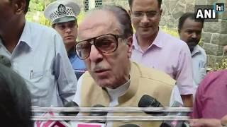 Congress leader Saifuddin Soz says Kashmir wants independence
