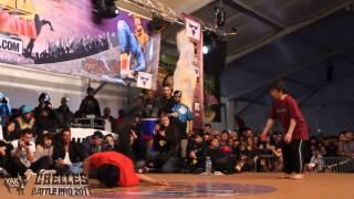 KAKU & YOSHI vs KILL & POCKET  Chelles Battle Pro 2011 Bboy 2on2 Semi-Final  YAK FILMS