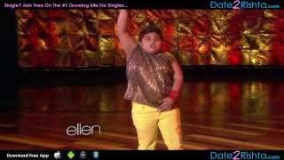 Akshat Singh's Second Dance Performance #2 on Ellen - India Got Talent!