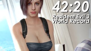 Resident Evil 3 Speedrun World Record - 42:20