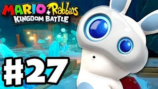 Mario + Rabbids Kingdom Battle - Gameplay Walkthrough Part 27 - World 4! Challenges 1-5!