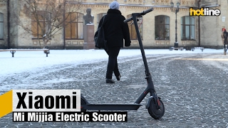 Xiaomi Mi Mijia Electric Scooter — обзор электрического самоката