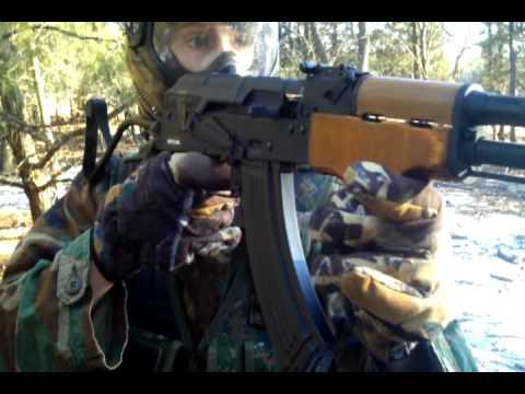 CyberGun Kalashnikov AK47 AIMS Blowback Airsoft AEG Review