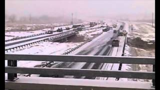 I-25 Car Wreck! MUST SEE!