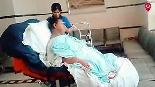 Eman roams around with wheelchair | Mumbai Live