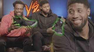 1 VS 1 VS NBA SUPERSTAR PAUL GEORGE BASKETBALL WAGER! PLAYSTATION AND NIKE SIGNATURE SHOE!