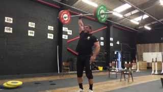 Dmitry Klokov - Old Weightlifting style - One Arm Snatch 90