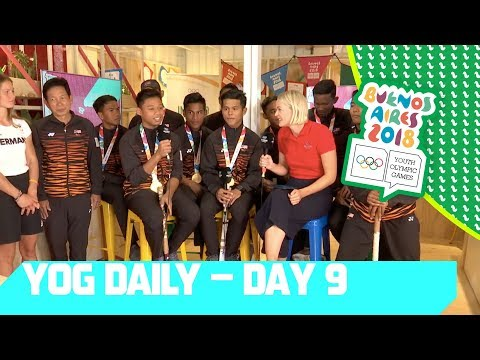 A Chat with the Malaysian Hockey Gold Medallists | YOG Daily Show | Day 9 | YOG Buenos Aires 2018