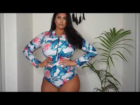 Xxx Mp4 2017 PLUS SIZE SWIMWEAR TRY ON HAUL LATECIA THOMAS 3gp Sex
