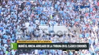La brutal golpiza que sufrió el hincha Emanuel Balbo en la tribuna de Belgrano