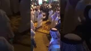 رقص واختلاط في شارع التحلية في اليوم الوطني