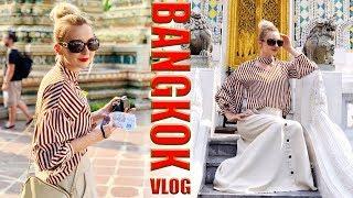 VLOG 🔸 Cuda architektury w Bangkoku 🔸 Świątynie Wat Phra Keo, Wat Pho i Wat Arun 🔸