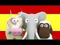 Apprendre l'espanol pour les enfants! Enseignez aux enfants les animaux et les nombres en espanol