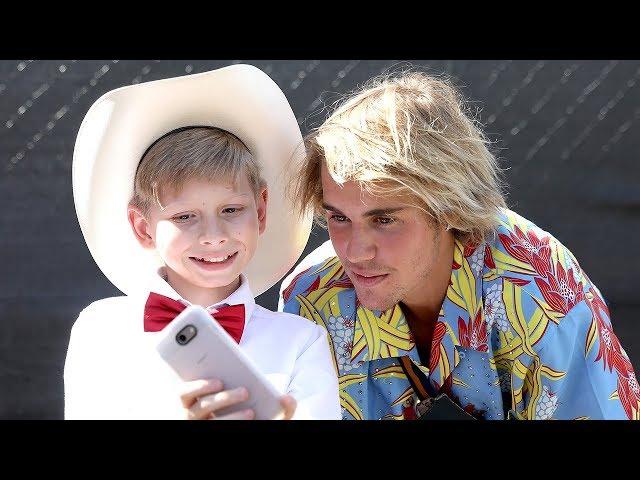 Walmart Yodel Boy PERFORMS & Meets Justin Bieber at Coachella 2018