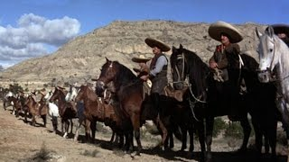 returm of the magnificent seven (1966) with Robert Fuller, Julián Mateos, Yul Brynner movie