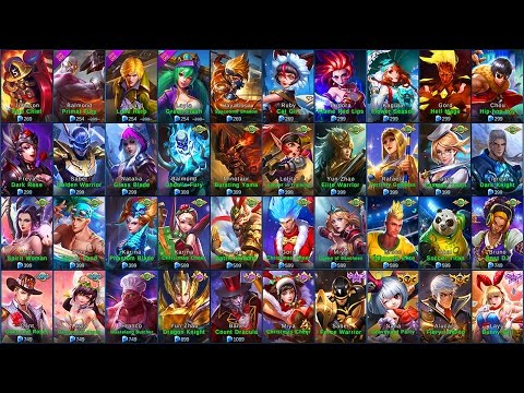 Mobile Legends ALL SKINS (iOSAndroid)