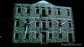 Video mapping inaugurazione Gruppo Green Power 2012