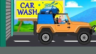 Jeep |Car Wash | Videos For Children