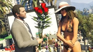 GTA 5 Real Life Mod #33 - NEW GIRLFRIEND & GOING ON A DATE!! (GTA 5 Mods)