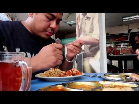 INDIAN MAMAK FOOD MUKBANG | MALAYSIAN PASSPORT RENEW | PURI ROTI SARDIN MAGGI GORENG