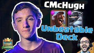 Clash Royale: Behind the Deck - CMcHugh's MegaKnight Hog Rider Deck is Unbeatable