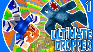 THE RAGE BEGINS!! - ULTIMATE DROPPER MINECRAFT MAP! #1