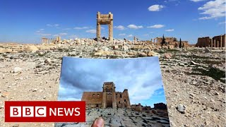 Tracking the history looted from a warzone - BBC News
