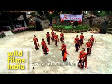 Chakma troupe perfoms in Mizoram