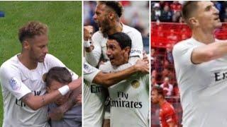 Rennes 1-3 PSG : Superbe geste Neymar pour un jeune supporter, bernat ramasse, meunier en feu